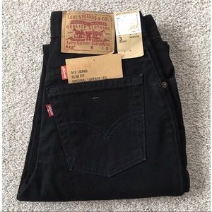 Vtg Levi's 512 High Rise Slim Fit Taper Jeans USA